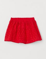 20Y3-016 H&M Skirt with Eyelet Embroidery - BÉ GÁI