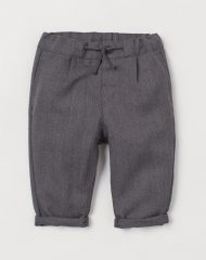 20O1-063 H&M Twill pull-on trousers - 12-18 tháng