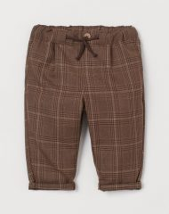 20O1-062 H&M Twill pull-on trousers - 12-18 tháng