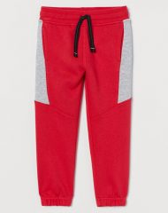 21J2-044 H&M Block-coloured joggers - 6-8 tuổi