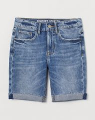 21A1-069 H&M Comfort Stretch Denim Shorts - BÉ TRAI