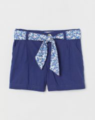 21L2-007 H&M Belted cotton shorts - Category